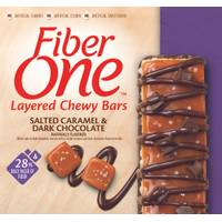 Fiber One Layer Bars Salted Caramel & Dark Chocolate Chunk from Blain's Farm and Fleet