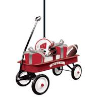 Evergreen Enterprises Wisconsin Badgers Team Wagon Ornament from Blain's Farm and Fleet