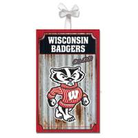 Evergreen Enterprises Wisconsin Badgers Metal Ornament from Blain's Farm and Fleet