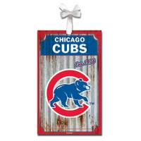 Evergreen Enterprises Chicago Cubs Metal Ornament from Blain's Farm and Fleet