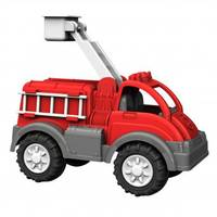 American Plastic Toys Gigantic Fire Truck from Blain's Farm and Fleet