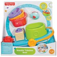 Fisher-Price Stackin' Tubtime Boat from Blain's Farm and Fleet