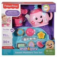 Fisher-Price Laugh & Learn Sweet Manners Tea Set from Blain's Farm and Fleet