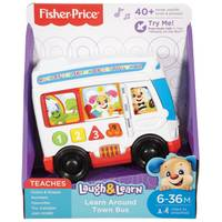 Fisher-Price Laugh & Learn Learn Around Town Bus from Blain's Farm and Fleet
