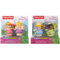 Fisher-Price Little People Disney Princess Snow White & Happy Figure Set Assortment from Blain's Farm and Fleet