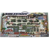 Express Wheels 80-Piece Military Play Set from Blain's Farm and Fleet