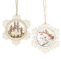 Midwest-CBK Paper Snowflake Ornament Assortment from Blain's Farm and Fleet