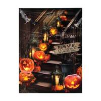 Timeless by Design Lighted Halloween Stairway Canvas from Blain's Farm and Fleet