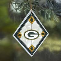 The Memory Company Green Bay Packers Art Glass Ornament from Blain's Farm and Fleet