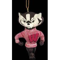 The Memory Company Wisconsin Badgers Mascot Ornament from Blain's Farm and Fleet