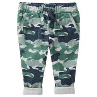 Oshkosh Kids Baby Boy's Multi-Colored Pull-On Camo Print Jersey-Lined Pants from Blain's Farm and Fleet