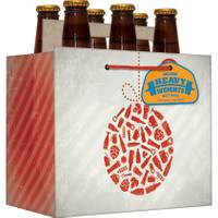 Expressive Designs Heavyweight Beer Ornament Beer Gift Bag from Blain's Farm and Fleet
