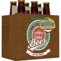 Expressive Designs Heavyweight Keeper Beer Gift Bag from Blain's Farm and Fleet