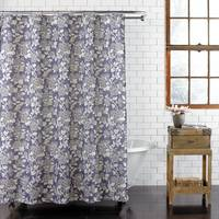 Ex-Cell Home Fashions Akiko Fabric Shower Curtain from Blain's Farm and Fleet