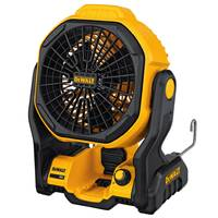 DEWALT 20V MAX Cordless/Corded Jobsite Fan from Blain's Farm and Fleet