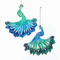 Kurt S. Adler Peacock Ornament Assortment from Blain's Farm and Fleet
