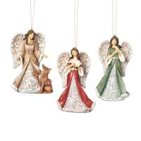 Roman Folk Art Angel Ornament Assortment from Blain's Farm and Fleet