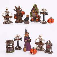 Gerson International Resin Halloween Figurine Assortment from Blain's Farm and Fleet
