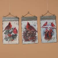 Gerson International Cardinal Scene Wall Hanging Assortment from Blain's Farm and Fleet
