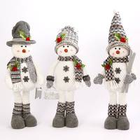Gerson International Plush Standing Snowman Assortment from Blain's Farm and Fleet