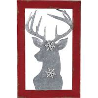 Transpac Imports Inc. Wood & Metal Reindeer Magnet Decor from Blain's Farm and Fleet