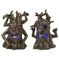 Transpac Imports Inc. Mini Resin Light-Up Spooky Tree Assortment from Blain's Farm and Fleet