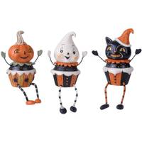 Transpac Imports Inc. Halloween Cupcake Mate Sitter Assortment from Blain's Farm and Fleet