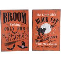 Transpac Imports Inc. Halloween Vintage Wall Art Assortment from Blain's Farm and Fleet