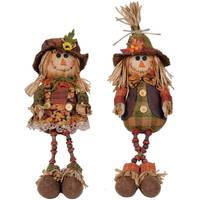 Transpac Imports Inc. Plush Scarecrow Shelf Sitter Assortment from Blain's Farm and Fleet