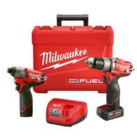 Milwaukee M12 Fuel 2-Tool Combo Kit from Blain's Farm and Fleet