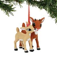Department 56 Rudolph and Clarice Ornament from Blain's Farm and Fleet