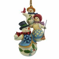 Jim Shore Stacked Snowmen Ornament from Blain's Farm and Fleet