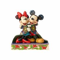 Jim Shore Mickey and Minnie Figurine from Blain's Farm and Fleet