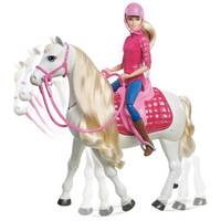 Barbie Dreamhorse Doll from Blain's Farm and Fleet