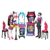 Monster High Monster Family Vampire Kitchen Playset with 2 Dolls from Blain's Farm and Fleet