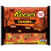 HERSHEY CHOCOLATE CO 9.6oz Reeses PBC w/Pieces Snacksize from Blain's Farm and Fleet