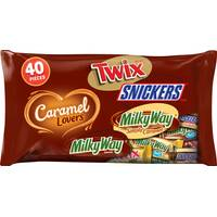 MARS WRIGLEY CONFECTIONERY US 40ct Caramel Lovers Variety Mix from Blain's Farm and Fleet