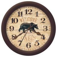 Firstime Manufactory Whisper Bear Wall Clock from Blain's Farm and Fleet