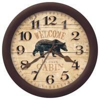 Firstime Manufactory Whisper Bear Wall Clock from Blain's Farm and Fleet