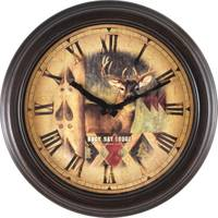Firstime Manufactory Bronze Buck Wall Clock from Blain's Farm and Fleet