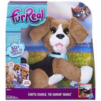FurReal Friends Chatty Charlie The Barkin' Beagle from Blain's Farm and Fleet
