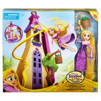 Disney Princess Tangled Swinging Locks Castle from Blain's Farm and Fleet