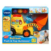VTech Push & Pop Bulldozer from Blain's Farm and Fleet
