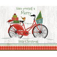 Lang Christmas Bike Boxed Christmas Cards from Blain's Farm and Fleet