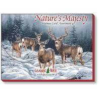 Leanin' Tree Nature's Majesty Christmas Cards from Blain's Farm and Fleet