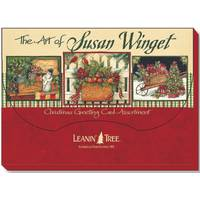 Leanin' Tree Susan Winget Christmas Cards from Blain's Farm and Fleet