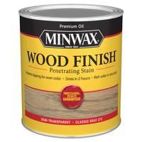 Minwax Classic Gray Wood Finish from Blain's Farm and Fleet
