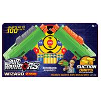 Air Warriors Wizard Dart Blaster 2-Pack from Blain's Farm and Fleet