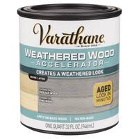 Varathane Weathered Wood Accelerator from Blain's Farm and Fleet