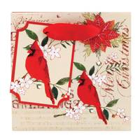 The Gift Wrap Company Holiday Collage Petite Square Bag from Blain's Farm and Fleet